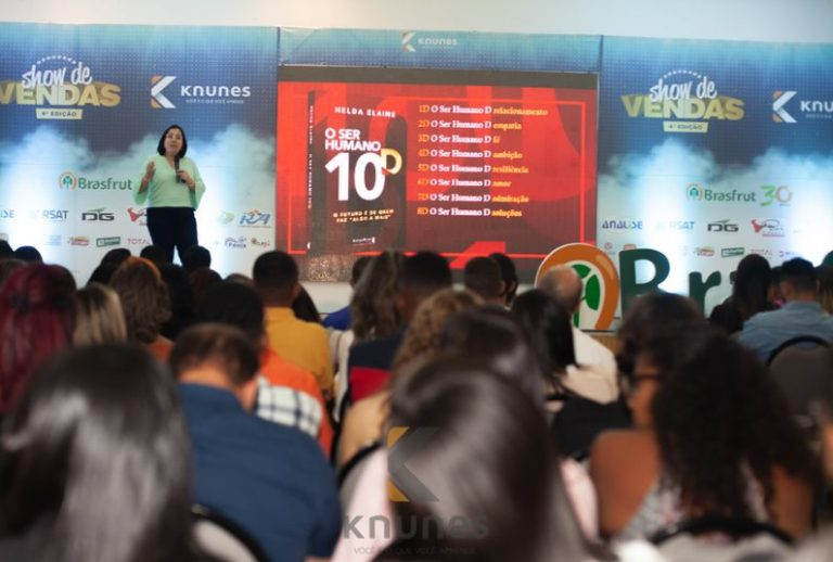 Palestrante Helda Elaine destaca os comportamentos relacionados ao sucesso em vendas